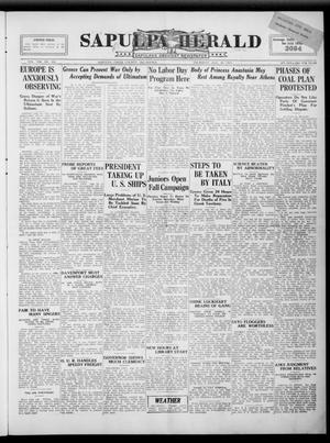 Primary view of Sapulpa Herald (Sapulpa, Okla.), Vol. 8, No. 306, Ed. 1 Thursday, August 30, 1923