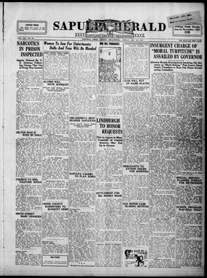 Primary view of Sapulpa Herald (Sapulpa, Okla.), Vol. 14, No. 90, Ed. 1 Friday, December 16, 1927