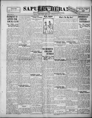 Primary view of Sapulpa Herald (Sapulpa, Okla.), Vol. 10, No. 134, Ed. 1 Saturday, February 7, 1925