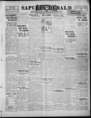 Primary view of Sapulpa Herald (Sapulpa, Okla.), Vol. 13, No. 11, Ed. 1 Tuesday, September 14, 1926