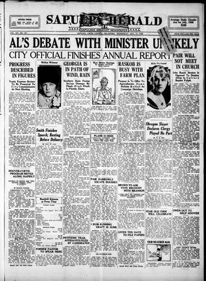 Primary view of Sapulpa Herald (Sapulpa, Okla.), Vol. 14, No. 294, Ed. 1 Wednesday, August 15, 1928