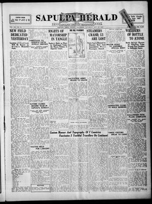 Primary view of Sapulpa Herald (Sapulpa, Okla.), Vol. 14, No. 50, Ed. 1 Saturday, October 29, 1927