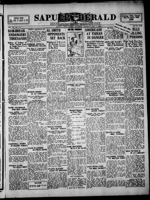 Primary view of Sapulpa Herald (Sapulpa, Okla.), Vol. 14, No. 209, Ed. 1 Saturday, May 5, 1928