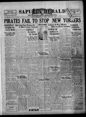 Primary view of Sapulpa Herald (Sapulpa, Okla.), Vol. 14, No. 31, Ed. 1 Friday, October 7, 1927