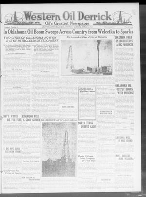 Primary view of object titled 'Western Oil Derrick (Oklahoma City, Okla.), Vol. 3, No. 11, Ed. 1 Saturday, March 13, 1920'.