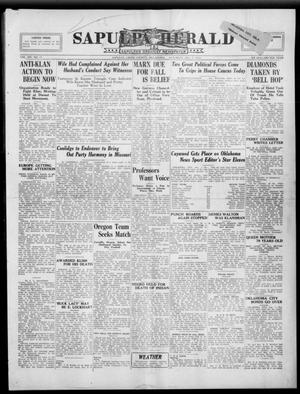 Primary view of Sapulpa Herald (Sapulpa, Okla.), Vol. 9, No. 77, Ed. 1 Saturday, December 1, 1923