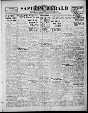 Primary view of Sapulpa Herald (Sapulpa, Okla.), Vol. 11, No. 252, Ed. 1 Saturday, June 26, 1926