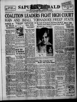 Primary view of Sapulpa Herald (Sapulpa, Okla.), Vol. 15, No. 219, Ed. 1 Saturday, May 18, 1929