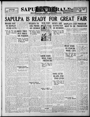 Primary view of Sapulpa Herald (Sapulpa, Okla.), Vol. 11, No. 8, Ed. 1 Thursday, September 10, 1925