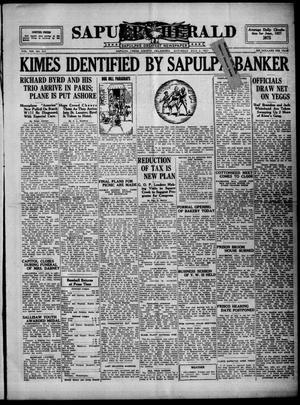 Primary view of Sapulpa Herald (Sapulpa, Okla.), Vol. 13, No. 257, Ed. 1 Saturday, July 2, 1927