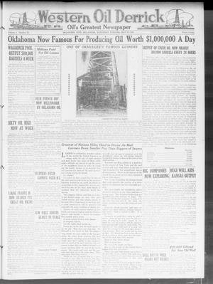 Primary view of object titled 'Western Oil Derrick (Oklahoma City, Okla.), Vol. 3, No. 22, Ed. 1 Saturday, May 29, 1920'.
