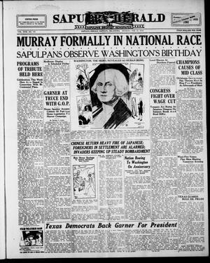 Primary view of Sapulpa Herald (Sapulpa, Okla.), Vol. 18, No. 146, Ed. 1 Monday, February 22, 1932