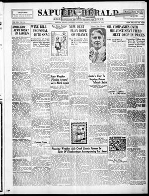 Primary view of Sapulpa Herald (Sapulpa, Okla.), Vol. 19, No. 90, Ed. 1 Friday, December 16, 1932