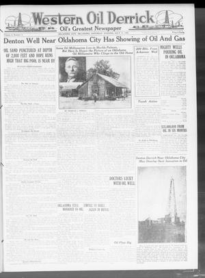 Primary view of object titled 'Western Oil Derrick (Oklahoma City, Okla.), Vol. 4, No. 3, Ed. 1 Saturday, July 17, 1920'.