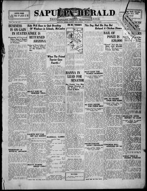 Primary view of Sapulpa Herald (Sapulpa, Okla.), Vol. 11, No. 256, Ed. 1 Thursday, July 1, 1926