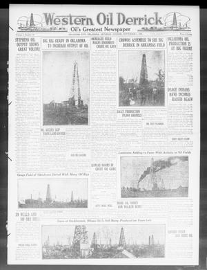 Primary view of object titled 'Western Oil Derrick (Oklahoma City, Okla.), Vol. 4, No. 10, Ed. 1 Saturday, September 4, 1920'.