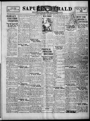 Primary view of Sapulpa Herald (Sapulpa, Okla.), Vol. 13, No. 297, Ed. 1 Friday, August 19, 1927