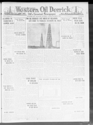 Primary view of object titled 'Western Oil Derrick (Oklahoma City, Okla.), Vol. 4, No. 18, Ed. 1 Saturday, October 30, 1920'.
