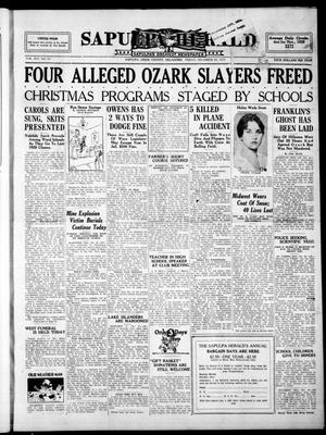 Primary view of Sapulpa Herald (Sapulpa, Okla.), Vol. 16, No. 93, Ed. 1 Friday, December 20, 1929