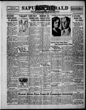 Primary view of Sapulpa Herald (Sapulpa, Okla.), Vol. 17, No. 189, Ed. 1 Monday, April 13, 1931