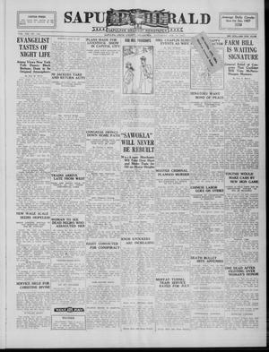 Primary view of Sapulpa Herald (Sapulpa, Okla.), Vol. 13, No. 144, Ed. 1 Saturday, February 19, 1927