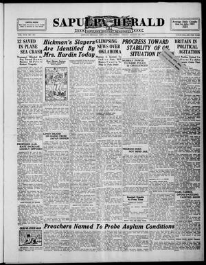 Primary view of Sapulpa Herald (Sapulpa, Okla.), Vol. 17, No. 305, Ed. 1 Friday, August 28, 1931