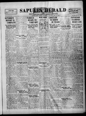 Primary view of Sapulpa Herald (Sapulpa, Okla.), Vol. 14, No. 66, Ed. 1 Thursday, November 17, 1927