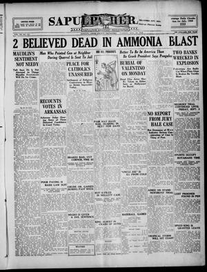 Primary view of Sapulpa Herald (Sapulpa, Okla.), Vol. 11, No. 301, Ed. 1 Tuesday, August 24, 1926