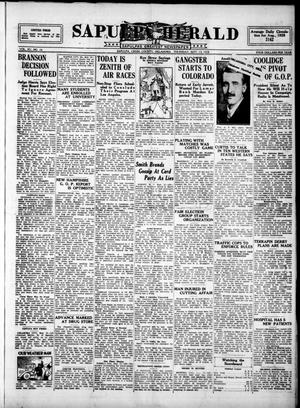 Primary view of Sapulpa Herald (Sapulpa, Okla.), Vol. 15, No. 10, Ed. 1 Thursday, September 13, 1928