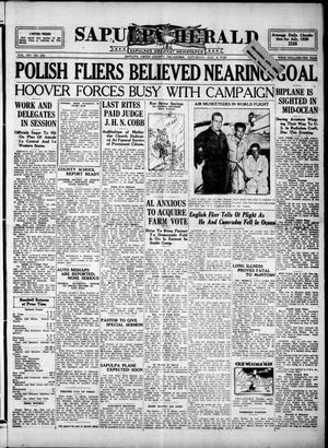Primary view of Sapulpa Herald (Sapulpa, Okla.), Vol. 14, No. 285, Ed. 1 Saturday, August 4, 1928