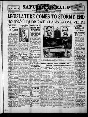 Primary view of Sapulpa Herald (Sapulpa, Okla.), Vol. 15, No. 259, Ed. 1 Saturday, July 6, 1929