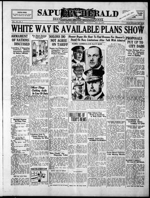 Primary view of Sapulpa Herald (Sapulpa, Okla.), Vol. 16, No. 9, Ed. 1 Thursday, September 12, 1929