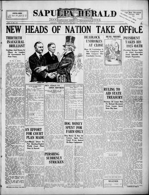 Primary view of Sapulpa Herald (Sapulpa, Okla.), Vol. 10, No. 155, Ed. 1 Wednesday, March 4, 1925