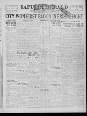 Primary view of Sapulpa Herald (Sapulpa, Okla.), Vol. 13, No. 101, Ed. 1 Thursday, December 30, 1926