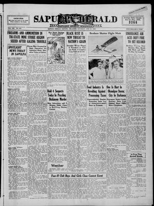 Primary view of Sapulpa Herald (Sapulpa, Okla.), Vol. 21, No. 254, Ed. 1 Saturday, June 29, 1935