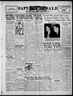 Primary view of Sapulpa Herald (Sapulpa, Okla.), Vol. 22, No. 265, Ed. 1 Tuesday, July 13, 1937