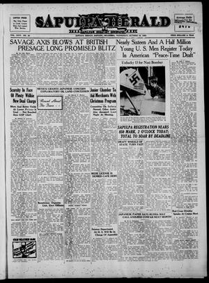 Primary view of Sapulpa Herald (Sapulpa, Okla.), Vol. 26, No. 38, Ed. 1 Wednesday, October 16, 1940