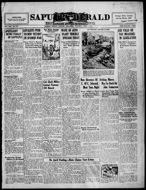 Primary view of Sapulpa Herald (Sapulpa, Okla.), Vol. 22, No. 179, Ed. 1 Thursday, April 1, 1937