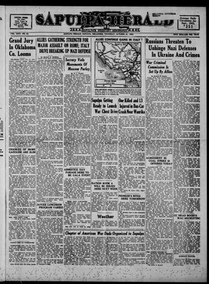 Primary view of Sapulpa Herald (Sapulpa, Okla.), Vol. 29, No. 43, Ed. 1 Thursday, October 21, 1943