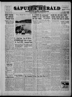 Primary view of Sapulpa Herald (Sapulpa, Okla.), Vol. 25, No. 194, Ed. 1 Thursday, April 18, 1940