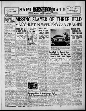 Primary view of Sapulpa Herald (Sapulpa, Okla.), Vol. 22, No. 253, Ed. 1 Monday, June 28, 1937