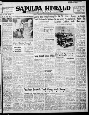 Primary view of Sapulpa Herald (Sapulpa, Okla.), Vol. 31, No. 280, Ed. 1 Tuesday, July 30, 1946