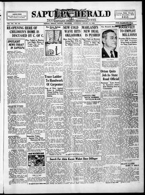 Primary view of Sapulpa Herald (Sapulpa, Okla.), Vol. 21, No. 120, Ed. 1 Wednesday, January 23, 1935