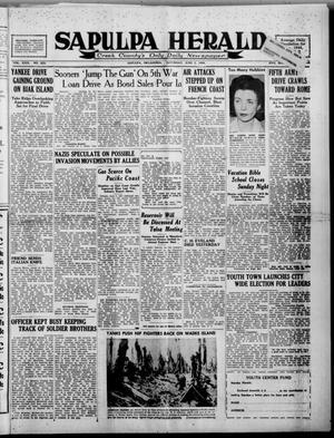 Primary view of Sapulpa Herald (Sapulpa, Okla.), Vol. 29, No. 233, Ed. 1 Saturday, June 3, 1944