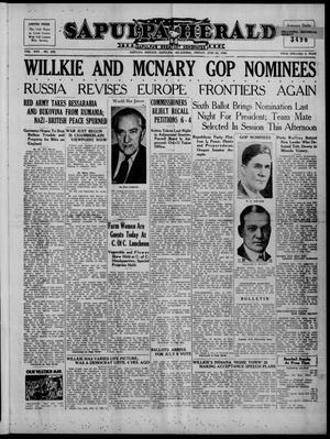 Primary view of Sapulpa Herald (Sapulpa, Okla.), Vol. 25, No. 254, Ed. 1 Friday, June 28, 1940