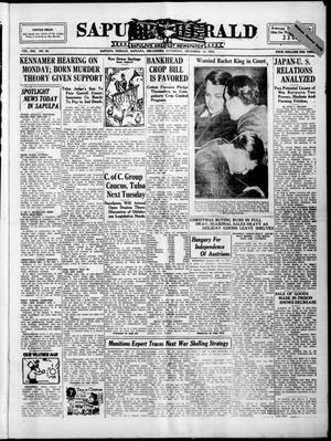 Primary view of Sapulpa Herald (Sapulpa, Okla.), Vol. 21, No. 89, Ed. 1 Saturday, December 15, 1934