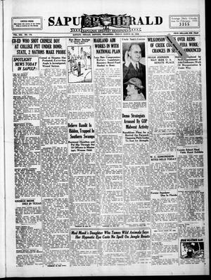 Primary view of Sapulpa Herald (Sapulpa, Okla.), Vol. 21, No. 176, Ed. 1 Friday, March 29, 1935