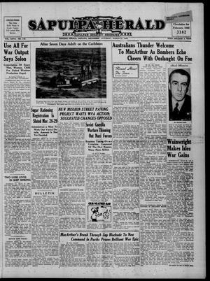 Primary view of Sapulpa Herald (Sapulpa, Okla.), Vol. 27, No. 170, Ed. 1 Saturday, March 21, 1942