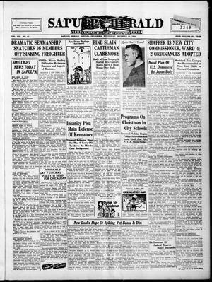 Primary view of Sapulpa Herald (Sapulpa, Okla.), Vol. 21, No. 92, Ed. 1 Wednesday, December 19, 1934