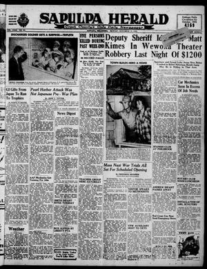 Primary view of Sapulpa Herald (Sapulpa, Okla.), Vol. 31, No. 67, Ed. 1 Monday, November 19, 1945
